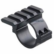 VectorOptics 30mm/25.4mm gredzens ar Weaver sliedi