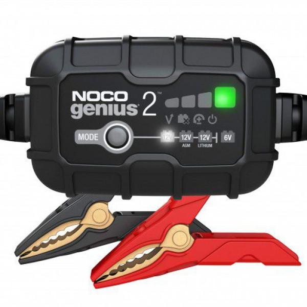 NOCO Genius2 12V/6V 2A lādētājs