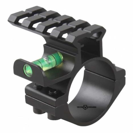 VectorOptics 30mm/25.4mm ACD gredzens ar Weaver sliedi