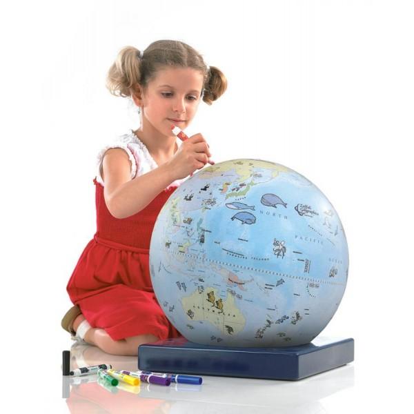 """Zoffoli Art. 912/1 """"Bimbi"""" krāsojamais globuss"""